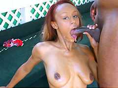 Ebony Aleia is fucked in her ass. Aleia Tyler