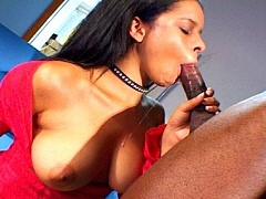 A cute black babe getting her muff munched and fucked. Mone Divine, watch free porn video.