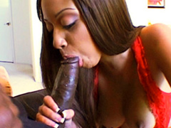 Angel Cummings gets fucked hard by big black dick