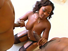 All Black 2-on-1 pussy pounding With Aryana Starr
