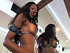 Big Lexington Steele seduced and destroyed gorgeous ebony chick