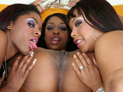 Carmen Hayes, Dena Caly, and Kim Pleasures are all black lesbians with great phat asses, sweet..