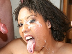Black porn gang bang video. Porn star name - Angelica Black