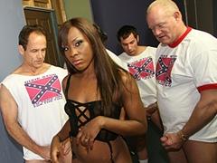 Black porn gang bang video. Porn star name - Ms Platinum