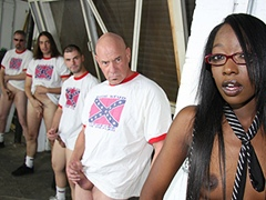 Black porn gang bang video. Porn star name - Taylor Starr