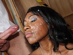 Black porn gang bang video. Porn star name - Queen Diva