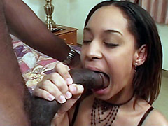 14 inch black rod face fuck and hard bang ebony tute