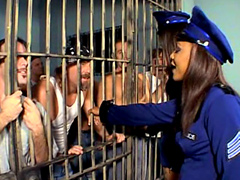 Adina Jewel & Japan wild prison orgy