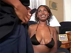 Amateur black woman. private porn video