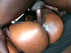 Watch hot clips with big ass ebony star Aryana Starr and our stud with big