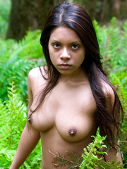 Young ethic chick naked
