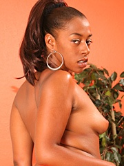 Ms. Juicy bends over and shows off her juicy ass cheeks. She doesn't just have a bubble..
