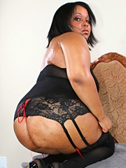 Jennifer Slutson loves nothing more than dressing up in some lacy lingerie and getting her slit..