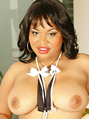 Kandi Kream chose her porn name well because she's got a real taste for a man's thick ball batter...
