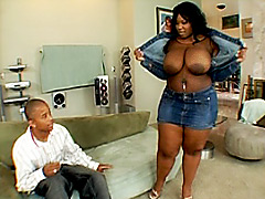 Black guy fucking huge black chick. Crystal Clear