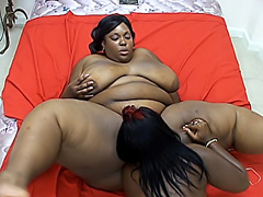 Black BBWs get their slits dripping wet. T Sparks & Scented Kisses