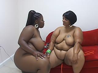 Ebony fatties porn