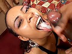 Thick black bitch gets her pussy fucked. Evonnah