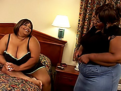 Big fat black lesbos get their slits wet. Choclick Ty & Chocolate