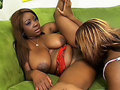 Black lesbians fuck each other hard. Button & Sweet Essence