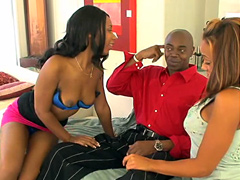 Do you like cocksucking black whores? Good, Cassidy Clay and her ghetto girl-friend! .. It's their..