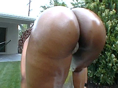 Do you like massive black butts? Yes? Then this black milf for you! Ayana Angel is in the mood for..