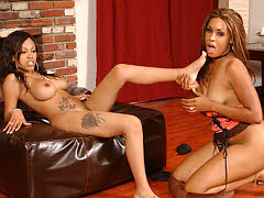 Beautiful black ladies using toys on each other and more. Lacey Duvalle and Kaleah