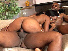 Betty boo pounded by two huge black guys. Betty Boo
