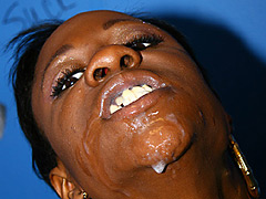 black mom glory-hole interracial blowjob fuck