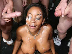 Black porn gang bang video. Porn star name - Kitten