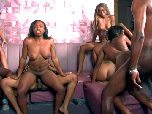 Free ebony group porn