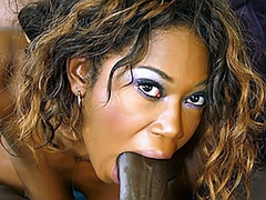 Delotta Brown is one of the hottest ebony milfs. Byron Long fucks her so hard that she is nearly..