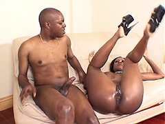 Diamond Jackson is an anal sex fun and let him poke his big dick right into her tight, well licked..