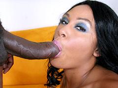 dork loving brunette Alayah Sashu in hard pussy fucking