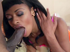 Black married housewife Divine finds herself alone for the weekend while her husband goes on a..