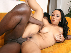 Horny black guy offers a makeover to ebony hottie