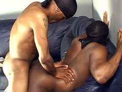 Horny performer's skill with black ass in yet another steamy one-on-one video with Romeo Carrington.