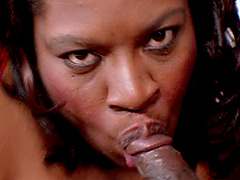 Huge fat black freak fucking