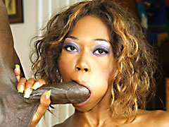 Mature black slut with natural titties putting out at home. Delotta Brown