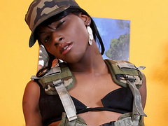 Nila is a beautiful 19 year old ebony tranny who always delivers a huge cum shot at the end of..