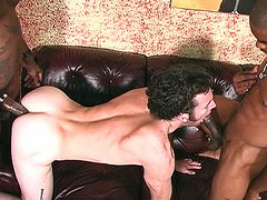 In this scene our whiteboi is laying on the couch in his shrinks office, confessing some of his..
