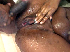 starring Roxy Ray, squirting black pussy, tube video.