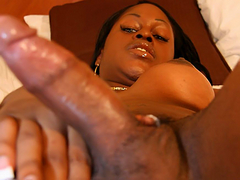 Video gallery of this hot black tgirl