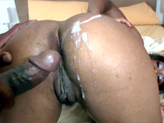 A tight body plus a nice ass equals Imani Rose. Shifting into doggy stile guy pounds her from..