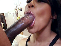 Leilani Leeane knows exactly what to do to relieve her boyfriend's sexual tension, bending over at..