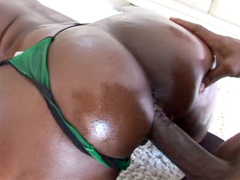 Aryana Starr takes on Lexington Steele's huge black dick, and she just can't get enough of it...